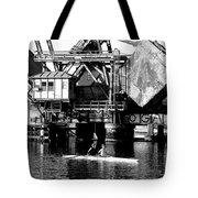 Sculling For Two Tote Bag