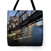 Sculling The Hillsborough Tote Bag