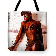 Sculpted Beauty Tote Bag