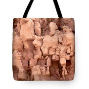 Sculpted Rocks Tote Bag