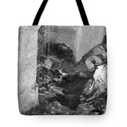 Sculpture Garden IIi In Black And White Tote Bag