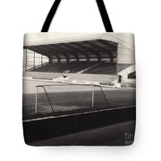Scunthorpe United - Old Showground - East Stand 1 - Bw - 1960s Tote Bag