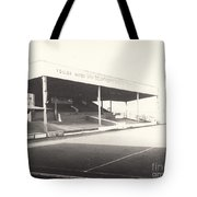 Scunthorpe United - Old Showground - Main Stand 1 - Bw - 1960s Tote Bag