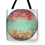 Gold And Pink Tote Bag