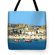 Sea And Sky Tote Bag by Julian Perry