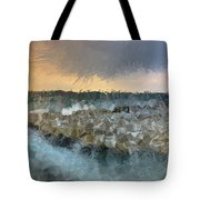 Sea And Stones Tote Bag