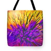 Sea Anemone Abstract - Kooosh Ball Tote Bag