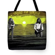 Sea Birds At The Sunset #2 Tote Bag