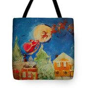 Sea Blue Christmas  Tote Bag