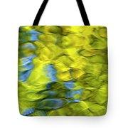Sea Breeze Mosaic Abstract Tote Bag