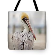 Sea Chicken Tote Bag
