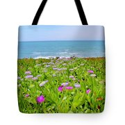 Sea Daisy Trail Tote Bag