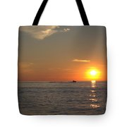 Sea Doo In To The Sunset Tote Bag
