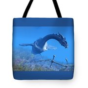 Sea Dragon And Anchor Tote Bag