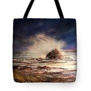 Sea Drama Tote Bag