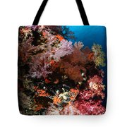 Sea Fans And Soft Coral, Fiji Tote Bag