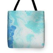 Sea Foam Tote Bag by Nikki Marie Smith
