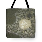 Sea Foam Over Sand Dollars Tote Bag