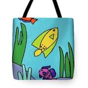 Sea Frolic Tote Bag