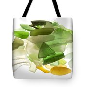 Sea Glass Tote Bag by Fabrizio Troiani