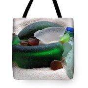 Sea Glass From Bermuda Tote Bag