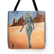Sea Goddess In Utah Tote Bag