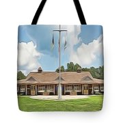 Sea Gull Dinning Hall Tote Bag by Harry Warrick