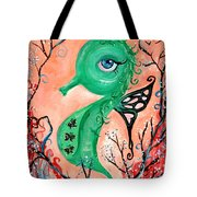 sea horse -In Love Tote Bag