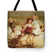 Sea Horses Tote Bag by Frederick Morgan