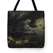 Sea In The Moonlight Tote Bag