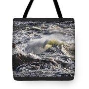 Sea In Turmoil Tote Bag
