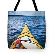 Sea Kayaking Tote Bag