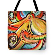 Sea Me Swirl Tote Bag