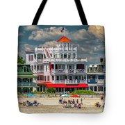 Sea Mist Hotel Tote Bag