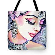 Sea Mist Tote Bag
