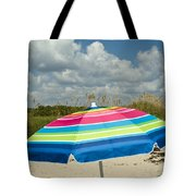Sea Oats On The Beach Tote Bag