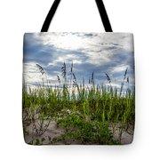 Sea Oats Sand Dune Sky Tote Bag