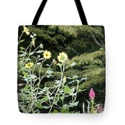 Sea Of Beautiful Flowers Tote Bag