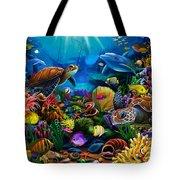 Sea Of Beauty Tote Bag