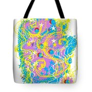Sea Of Dance Tote Bag