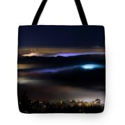 Sea Of Fog Tote Bag by Windy Corduroy