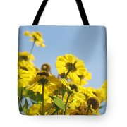 Sea Of Gold Tote Bag