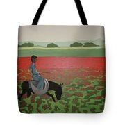 Sea Of Poppy Tote Bag