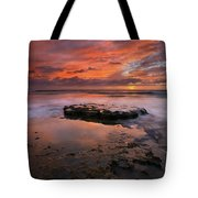 Sea Of Red Tote Bag
