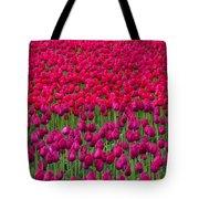 Sea Of Tulips Tote Bag