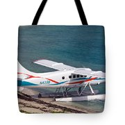 Sea Plane At Dry Tortugas National Park Tote Bag