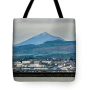 Sea Point And Sugar Loaf Mountain Tote Bag