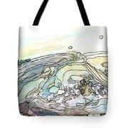 Sea Rock Tote Bag