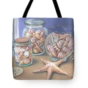 Sea Shell Collection Tote Bag