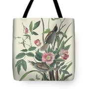 Sea-side Finch Tote Bag
